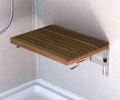 wall mounted shower bench cedar shower bench teak shower bench wall mounted amazing seat home interior