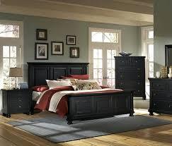Reflections Mansion Bedroom Set Ebony Finish Ashley Coal Creek ...