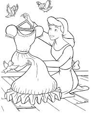 Cinderella Printable Coloring Pages Free Printable Cinderella