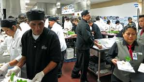 busy kitchen. A Chef In The Kitchen Busy Can Be Stressful Place If Not Organized P