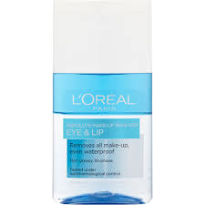 l oréal paris absolute eye and lip make up remover 125ml lookfantastic