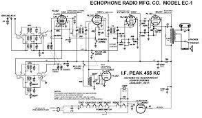 echophone ec 1 john s ec 1 schematic