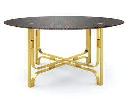 modern round table view in gallery round table by modern dining tables that will make every