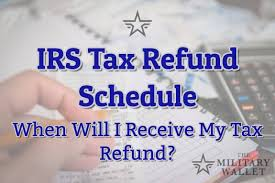Illinois State Refund Cycle Chart 2018 2019 Irs Tax Refund Schedule Direct Deposit Dates 2018