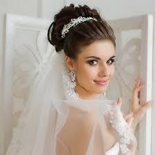 Svatební účesy S Diadem Na Vlasy Různých Délek Krása ženský časopis