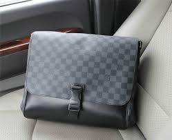 whole 1 1 quality lv men bag real leather wallet louis vuitton laptop bag 1