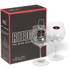 riedel vinum wine glasses oaked chardonnay