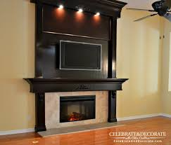 The big brown Fireplace
