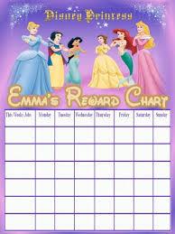 princess reward chart related keywords suggestions princess disney princess reward chart