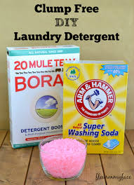 clump free diy laundry detergent