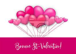 Carte De St Valentin Image Ballon Rose Bonne Saint Valentin Bonne St Valentin Langue