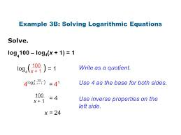 solving logarithmic equations examples fedinvest