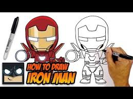 Ironman coloring pages are the best way to teach your child to differentiate between good and evil. How To Draw Iron Man Avengers Step By Step Tutorial Youtube Iron Man Drawing Easy Iron Man Art Iron Man Drawing