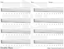 Blank Chord Tabs For All Instruments