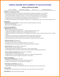 examples of resume summary resume reference examples of resume summary examples of resume summary cv template qualifications e6jsllje png