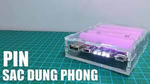 Ráp bộ combo chế pin sạc dự phòng 4 cell - Yêu Sáng Tạo - YouTube