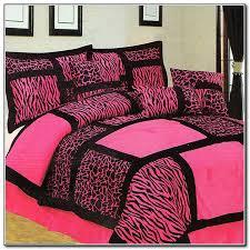 hot pink and black zebra print bedding designs
