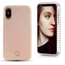 Iphone X Led Light Case Fullopto Iphone X Led Light Case Selfie Led Phone Case Light With Independent Rechargeable Illuminated Protection Luminous Selfie Light For Iphonex