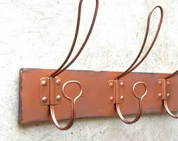 Vintage Coat Hook Rack Copper wall rack Etsy 38
