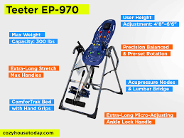 Teeter Comparison Chart 6 Teeter Inversion Tables Reviews Ep 970 Vs Others