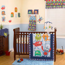 monster crib bedding plan