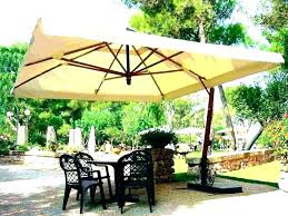 offset patio umbrella with base weights outdoor free standing sun and stand b an black corliving