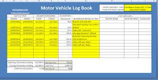 Vehicle Log Book Template Log Book Method Atotaxrates Info