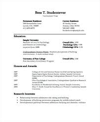Official Resume Formats Official Resume Template