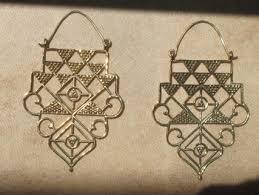 br tribal hanging earrings sacred geometry jewellery hand made