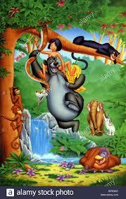 mowgli baloo kaa bagheera the jungle book 1967