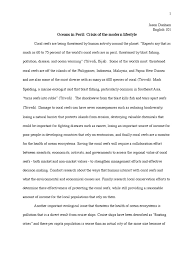 coral reef essay corals and coral reefs smithsonian ocean portal pollution essay pollution ships