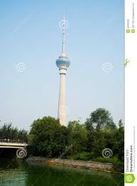 Central Lighting Rod China Asia Beijing China Central Television Tower