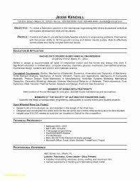 45 Luxury Mechanical Engineering Resume Format Download Resume