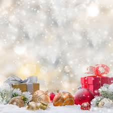Gifts Background Attractive Snowflake Wallpaper Fashion Christmas Photography Backdrop Vinyl Christmas Gifts Background