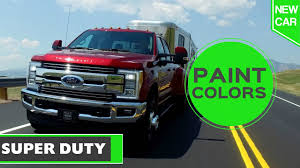 2017 Ford Super Duty Paint Colors