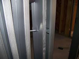 installing welded hollow metal door frames