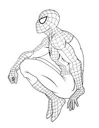 Coloriage Spiderman Avec Couleurl Duilawyerlosangeles