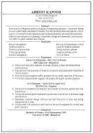One Page Resume Examples One Or Two Page Resume One Page Resume ...