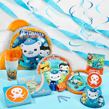 International Party Decorations Octonauts Super Deluxe Party Kit Walmartcom
