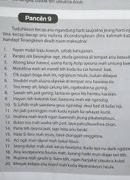 Soal latihan dan jawaban uas bahasa sunda kelas 8 semester 1 berikut ini contoh soal latihan ulangan akhir semester pas atau penilaian akh. Jawaban Pancen 8 Bahasa Sunda Kelas 8 Guru Paud