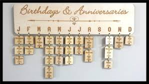 Birthday Anniversary Calendar Birthday And Anniversary Calendar Ctonline