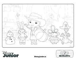 Doc Mcstuffins Coloring Pages Disney Junior Doc Coloring Pages Doc