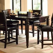 Granite Kitchen Table Sets Kitchen Table Sets With Bench Black High Gloss Wood Countertops