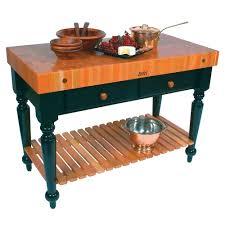 John Boos Rn Lr05 Ssl Le Rustica Table 4 Thick End Grain Cherry