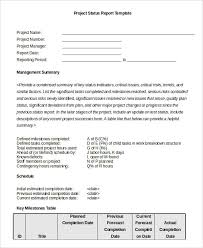 Project Status Sheet Cool Status Report Template 48 Free Word PDF Documents Download