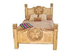 Star Bedroom Furniture Million Dollar Rustic Bedroom Texas Rope Star Bed 02 09 5 0 Tx