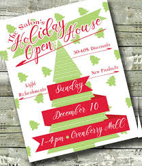 christmas open house flyer 18 open house flyers psd vector eps download