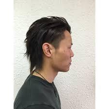 オールバックツーブロック Hair Salon Morigenモリゲンのヘア