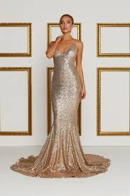 Alamour The Label Size Chart Yassmine Luxe Rose Gold In 2019 Rose Gold Sequin Dress