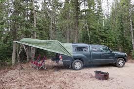 rain shelter for truck living